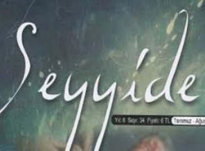 Seyyide dergisinin 34. sayısı çıktı